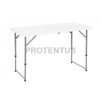 Plastic folding table 122 cm