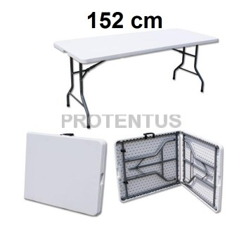 Plastic folding table 152 cm