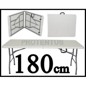Plastic folding table 180 cm