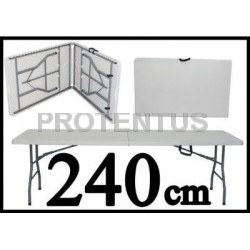 Sulankstomas stalas 240 cm
