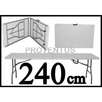 Plastic folding table 240 cm