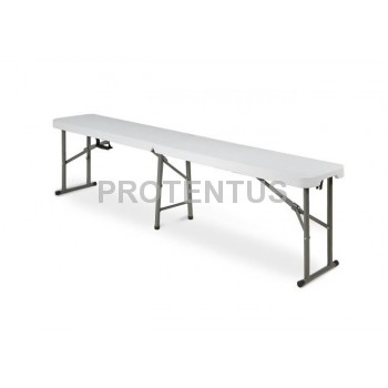 Plastic folding  bench 180 cm