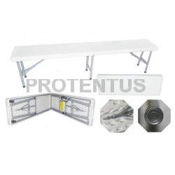 Plastic folding  bench 183 cm