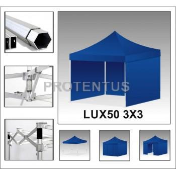 Prekybinės palapinės iš aliuminio LUX50 3х3 su 4 sienelėm