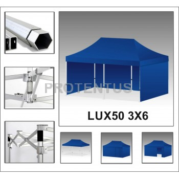 Prekybinės palapinės iš aliuminio LUX40 3х6 su 4 sienelėm