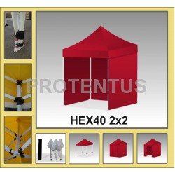 "Canopy tent ""HEX40"" 2x2"