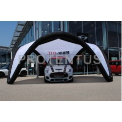 Inflatable promotional tent V-TENT 6,2m