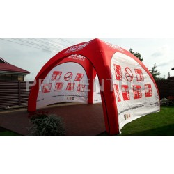 Inflatable promotional tent X-TENT 4x4